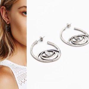 Free People Evil Eye Earrings